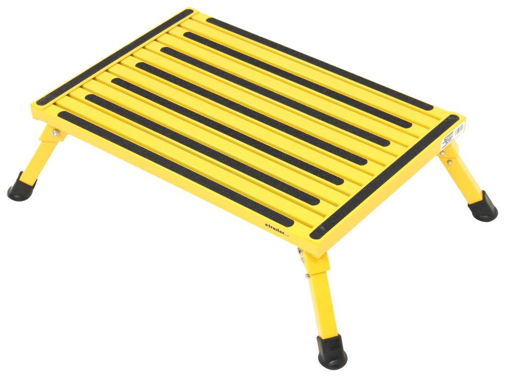 24 Inch Step Stool Jeronic 11 Inch Plastic Folding Step