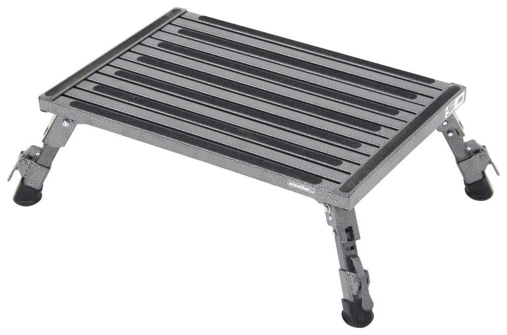 Safety Step Adjustable Height Folding Platform Step