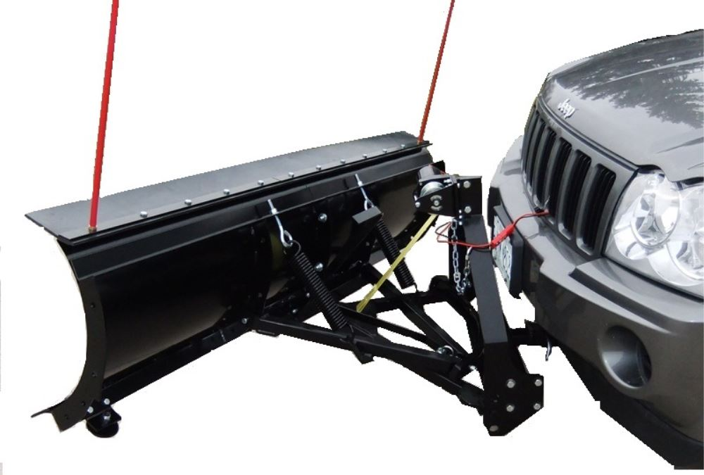 "SnowBear Personal Snowplow for 2"" Hitches - Electric Winch ..."