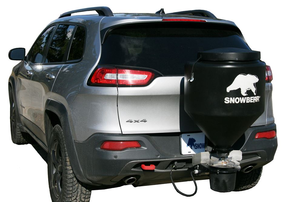 SnowBear Hitch Mounted Salt Spreader - SB324-223
