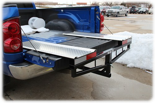 Truck Bed Extender Snowmobile