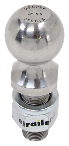 SC23-C - 2-1/8 Inch Shank Length Brophy Trailer Hitch Ball