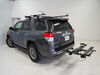 "Kuat Sherpa 2.0 2-Bike Platform Rack - 2"" Hitches - Tilting - Gray Bike and Hitch Lock SH22G on 2012 Toyota 4Runner"