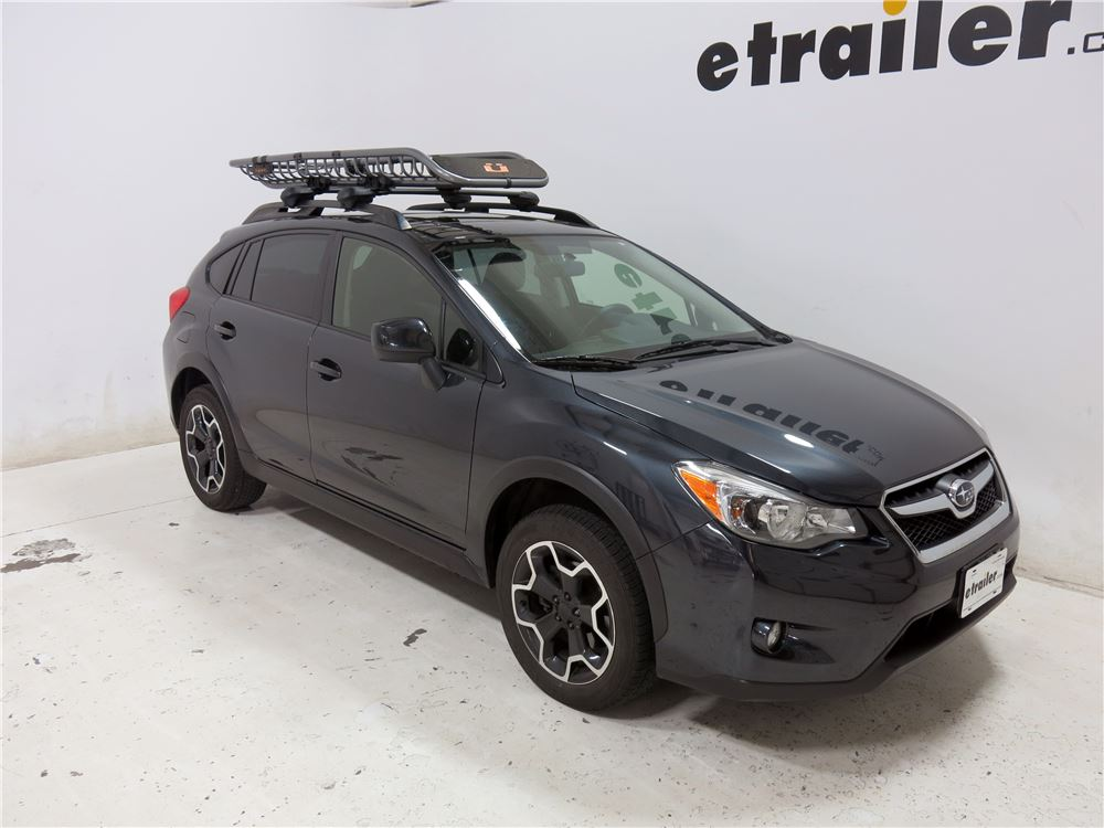 "Subaru Crosstrek With Roof Rack >> Kuat Skinny Roof Cargo Basket and Bike Rack - Steel - 82"" x 23"" - 160 lbs Kuat Roof Basket SK01"