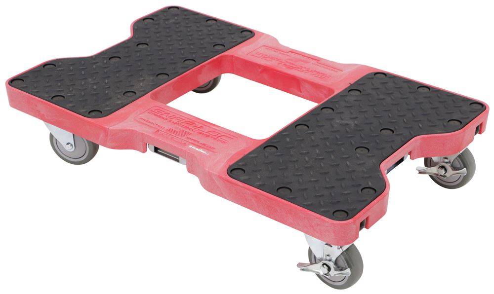 "Snap-Loc Moving Dolly with E-Track Anchor Points - 32"" Long x 21"" Wide - 1,500 lbs - Red SL1500DR319-P"