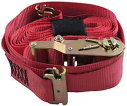 "Snap-Loc E-Track Tie-Down Strap w/ Ratchet and Soft Tie-Loop - 2"" x 16' - 1,467 lbs"