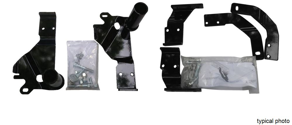 Custom Mounting Bracket Kit for SnowBear Hydraulic and Winter Wolf Snowplows SB397-105