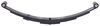 "4-Leaf Double-Eye Spring for 4,000-lb Trailer Axles - 26"" Long"