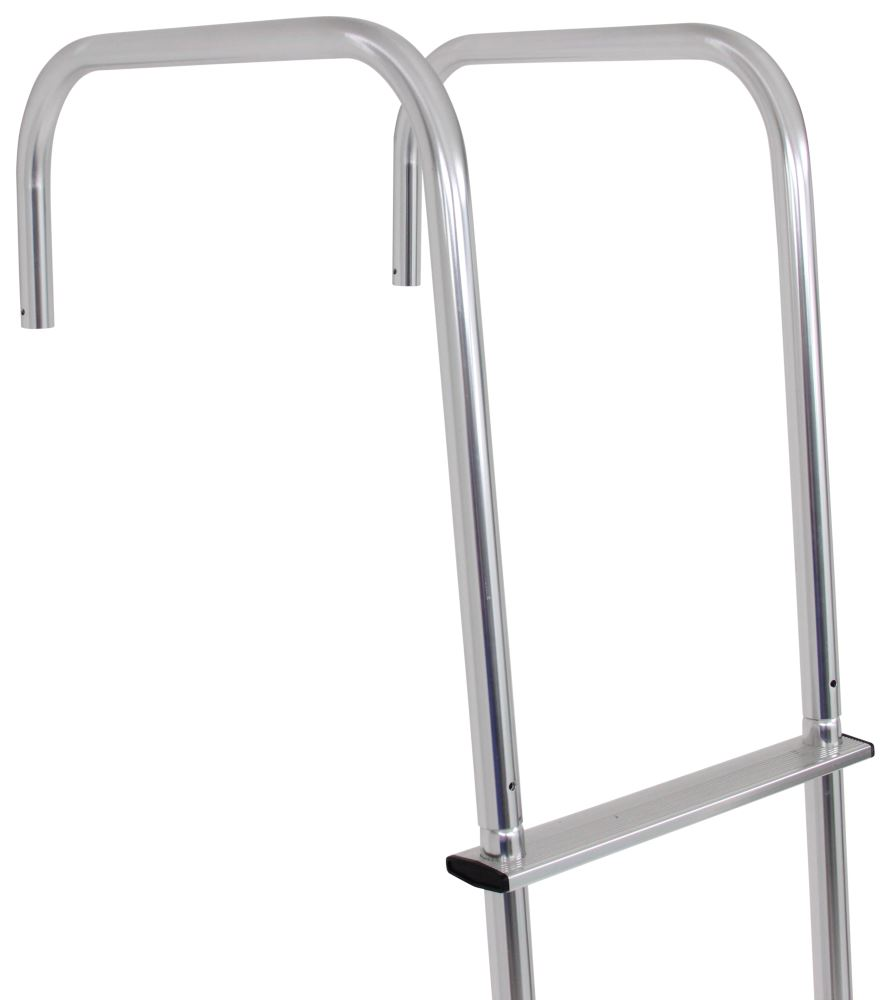 Exterior Wall Ladders : Surco universal exterior rv ladder w center hinges for