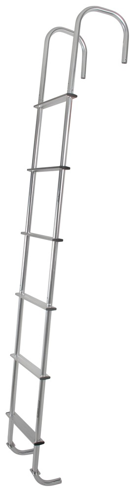 Exterior Wall Ladders : Surco universal exterior rv ladder quot long