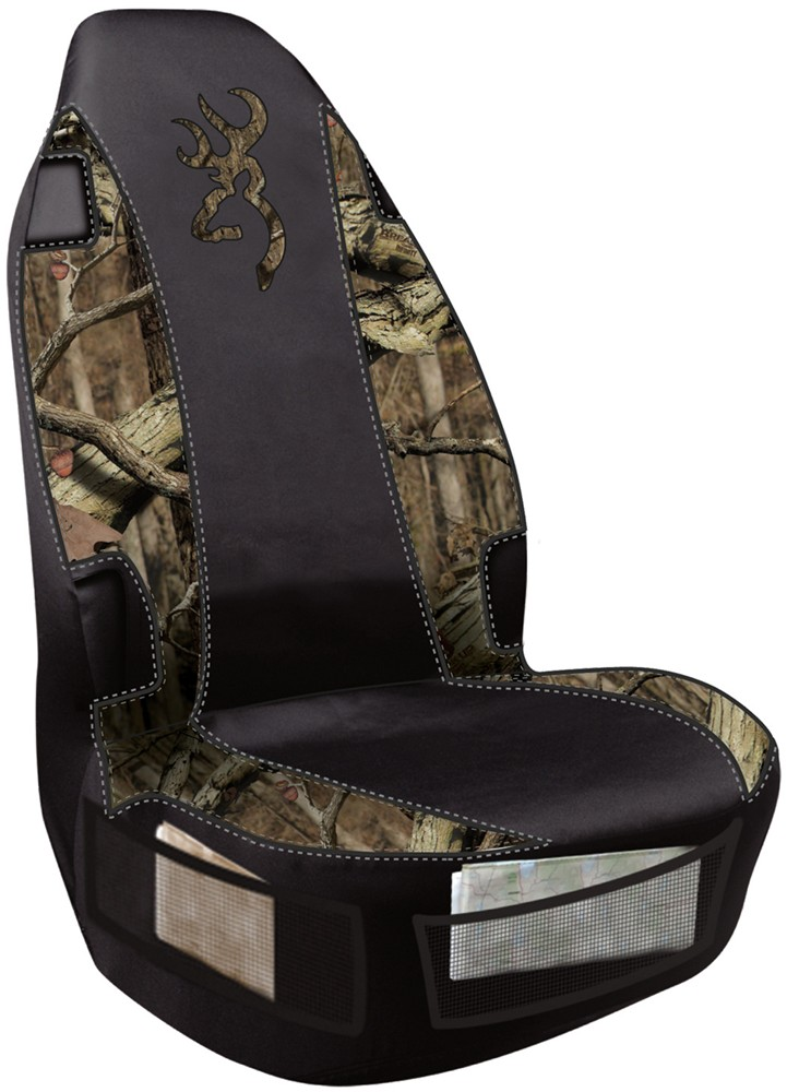 browning universal fit bucket seat cover polyester break up infinity camo and black qty 1. Black Bedroom Furniture Sets. Home Design Ideas
