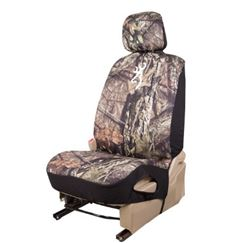 Browning Universal Fit Low Back Bucket Seat Cover - Neoprene - Break-Up Country Camo - Qty 1