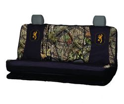 Browning Mossy Oak Universal Fit Bench Seat Cover - Polyester - Break-Up Country Camo - Qty 1