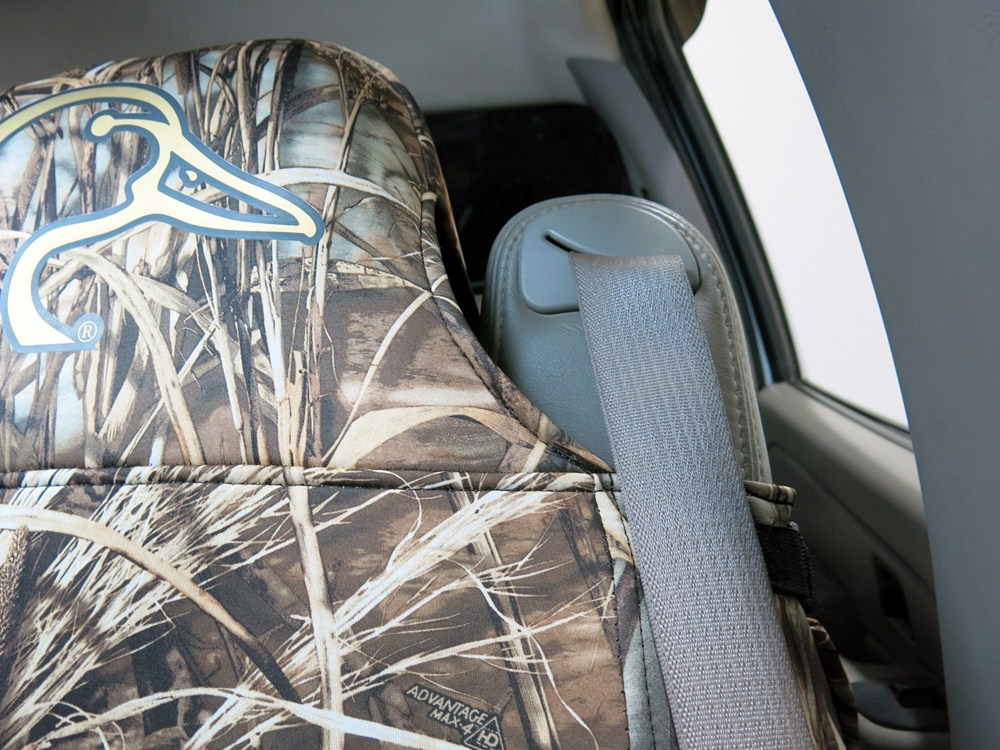 Realtree Max 4 Neoprene Seat Covers Velcromag