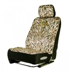 Ducks Unlimited Universal Fit Bucket Seat Cover - Neoprene - Shadow Grass Blades Camo - Qty 1