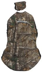 Realtree Outfitters Universal Fit Low Back Bucket Seat Cover - Neoprene - Extra Camo - Qty 1