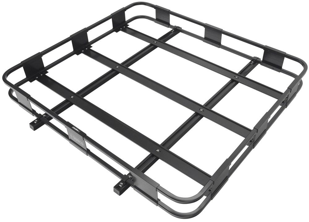 "Surco Safari Rack 5.0 Rooftop Cargo Basket for Yakima Roof Racks - 50"" Long x 45"" Wide Round Bars SPS4550-Y400"