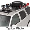 "Surco Safari Rack 5.0 Rooftop Cargo Basket for Yakima Roof Racks - 60"" Long x 45"" Wide Round Bars SPS4560-Y400"