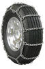 Pewag All Square Snow Tire Chains with Cam Tighteners - Square Link - Reversible - 1 Pair On Road Only PWE2228SC