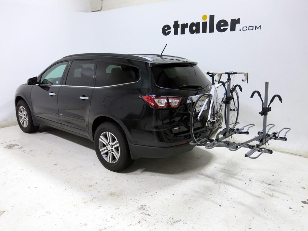 2015 chevrolet traverse sportrack 4 bike rack for 2 hitches platform style. Black Bedroom Furniture Sets. Home Design Ideas
