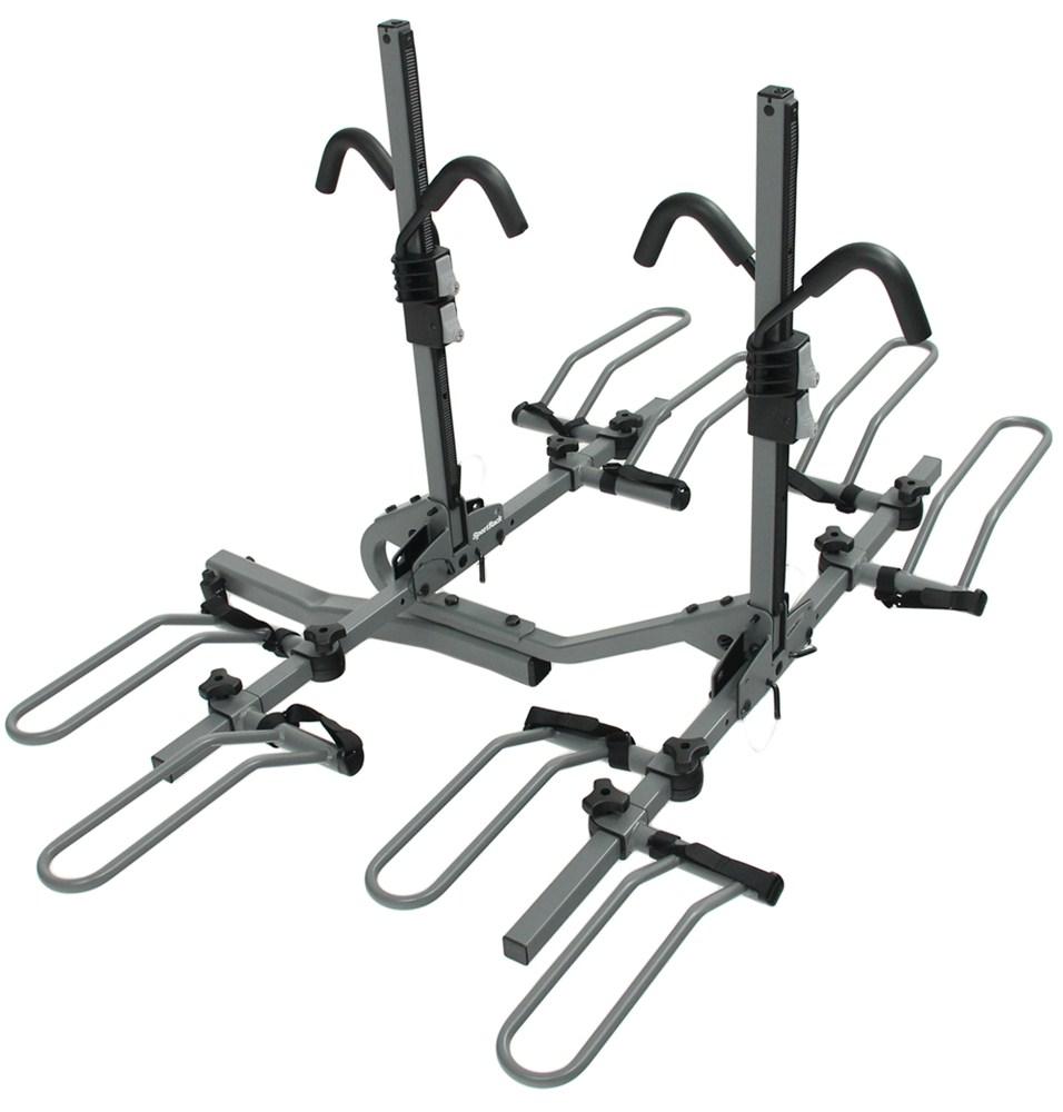 pare vs etrailer Chevy Convertible Phaeton sr2902lr fold up rack sportrack hitch bike racks