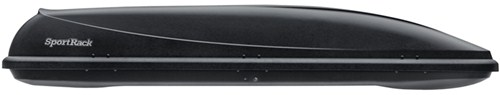 SportRack Horizon Rooftop Cargo Box - 11 cu ft - Black Small Capacity SR7011