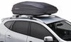 SportRack Vista XL Cargo Box - Roof Mount - 18 cu ft - Black Rear Access SR7018