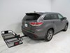 SR9851 - 20 Inch Wide SportRack Flat Carrier on 2015 Toyota Highlander