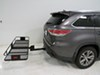 "20x60 SportRack Vista Cargo Carrier for 2"" Hitches - Steel - Folding - 500 lbs Steel SR9851 on 2015 Toyota Highlander"