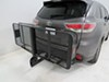 "20x60 SportRack Vista Cargo Carrier for 2"" Hitches - Steel - Folding - 500 lbs 60 Inch Long SR9851 on 2015 Toyota Highlander"