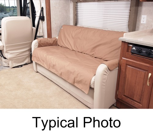SRS002TP - 18 Inch Deep Canine Covers RV Couch Covers