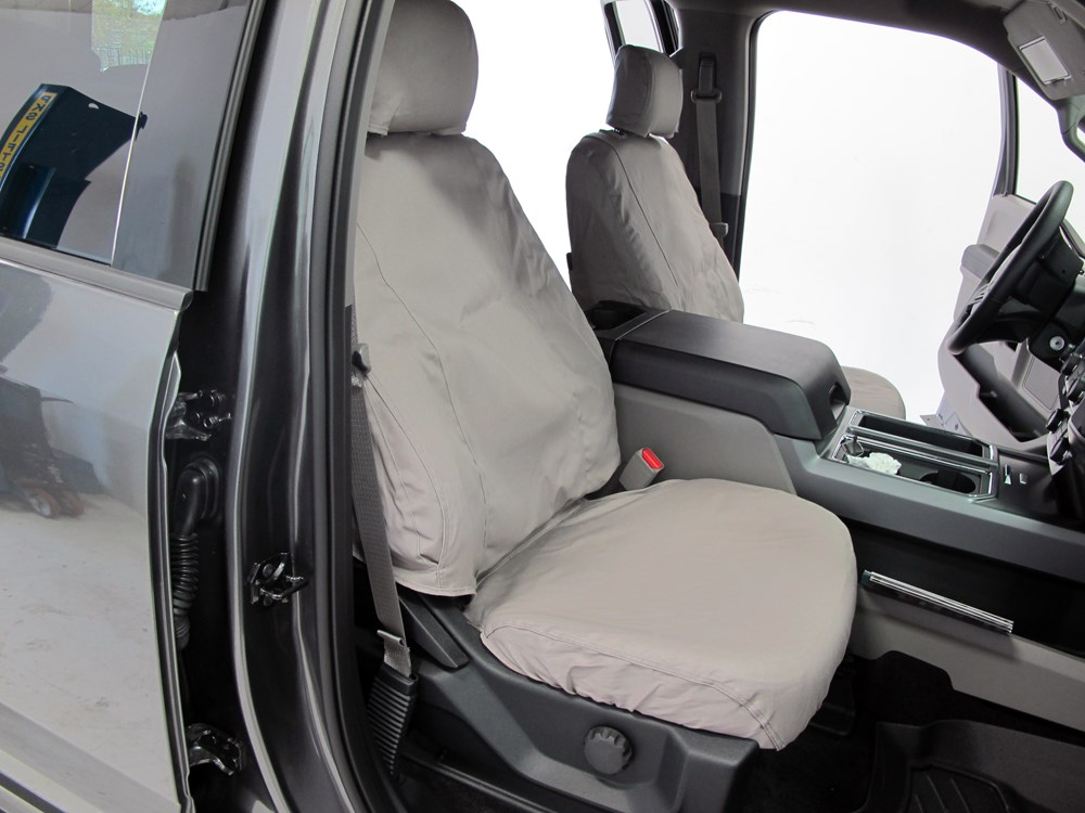 seat ford 150 covers custom front seatsaver misty covercraft gray