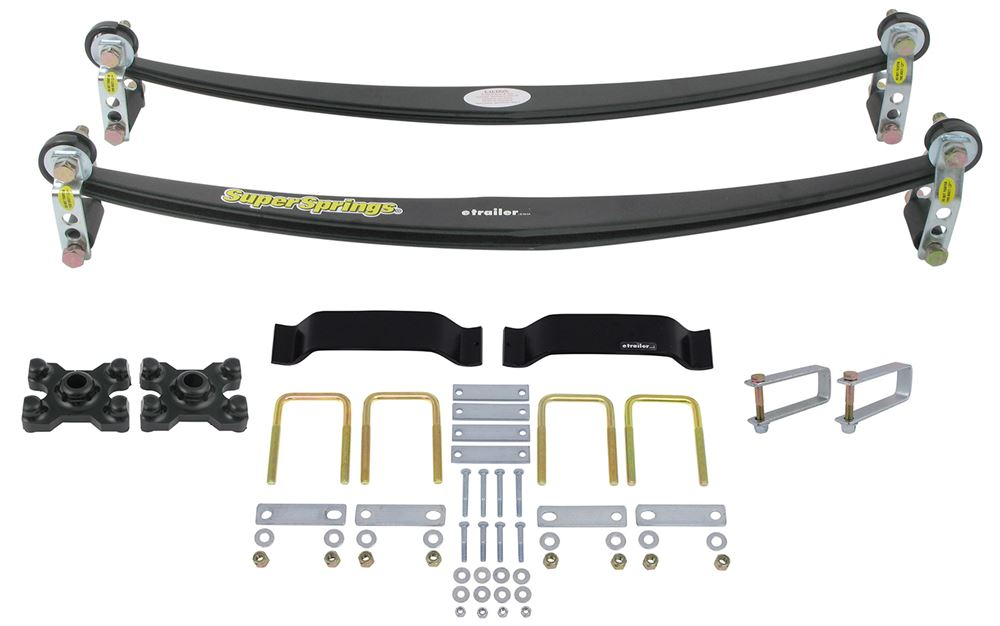 SuperSprings Rear Axle Suspension Enhancement - SSA13MXKT