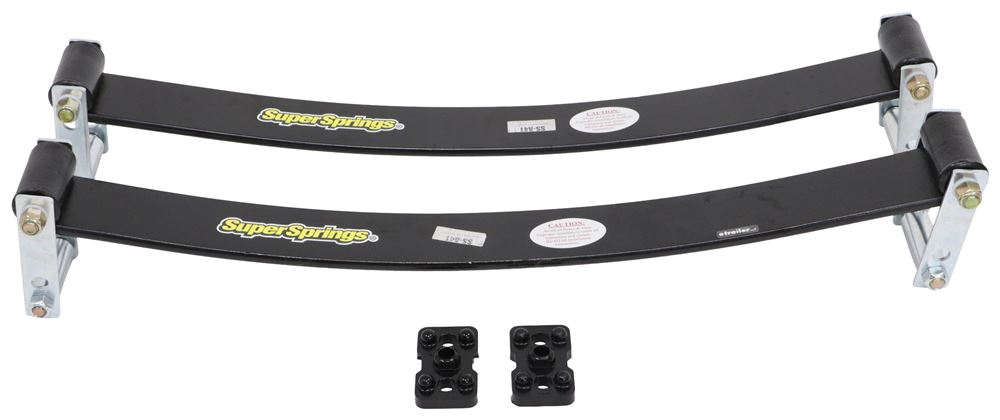 SSA41 - Leaf Springs SuperSprings Rear Axle Suspension Enhancement
