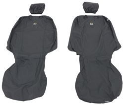 Covercraft Carhartt SeatSaver Custom Seat Covers - Front - Gravel
