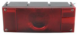 "Over 80"", Rectangular Submersible Trailer Tail Light, 3 Wire, 7-Function, Right Hand"