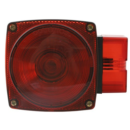 Over 80 U0026quot  Wide  Square Trailer Tail Light  7