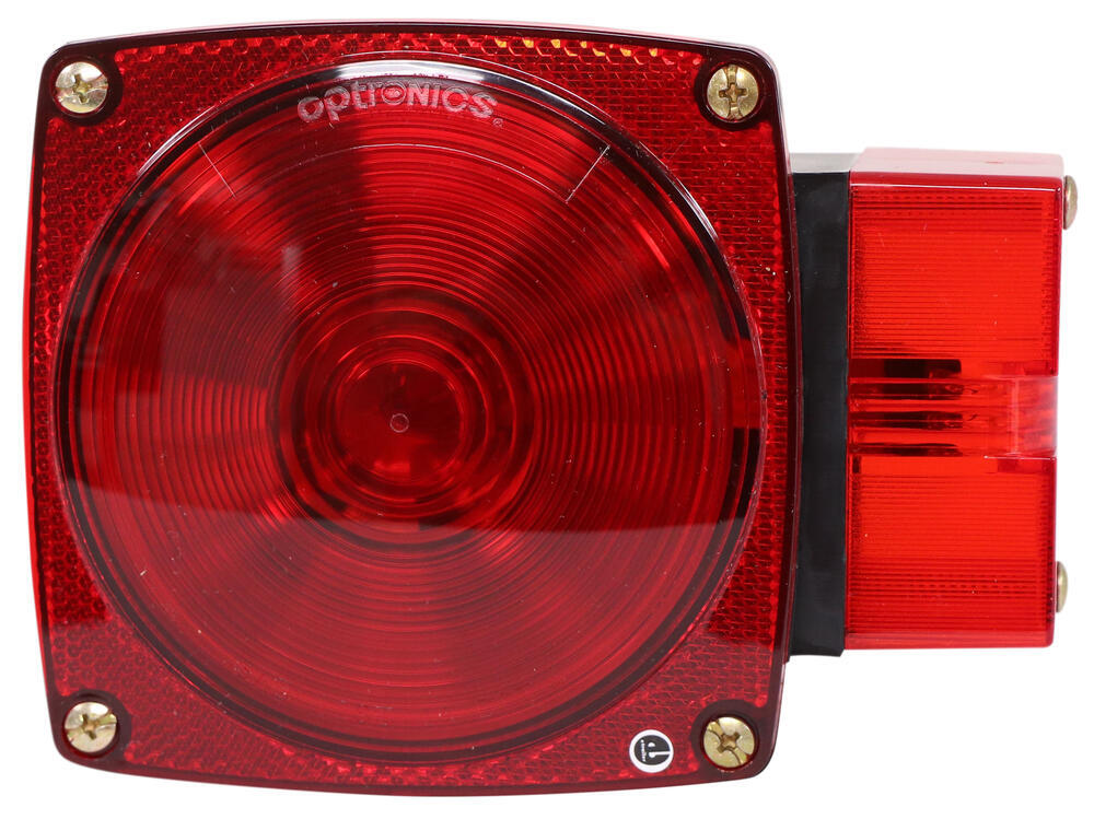 Optronics Stop/Turn/Tail,Side Marker,Rear Clearance,Side Reflector,Rear Reflector Trailer Lights - ST2RB