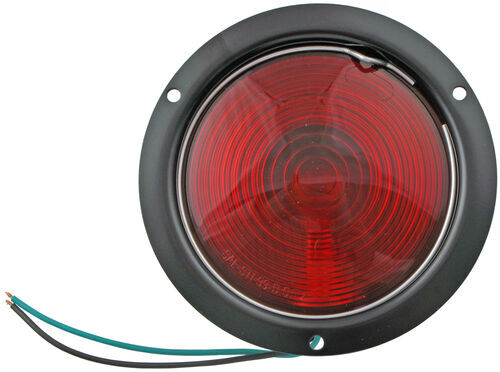 Superb 4 1/2 Inch Round Trailer Stop Turn And Tail Light Flange Mount 3 Home Design Ideas