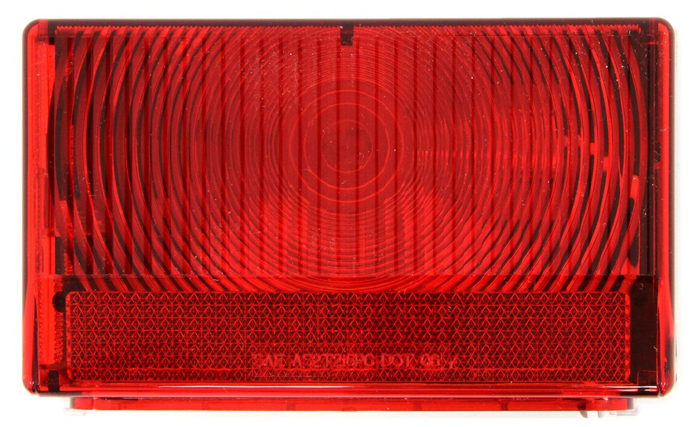 Optronics Stop/Turn/Tail,Side Marker,Rear Clearance,Side Reflector,Rear Reflector,License Plate Trailer Lights - ST57RS