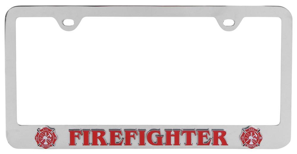 Firefighter License Plate Frame Siskiyou License Plates and Frames ...