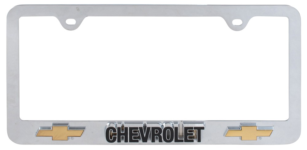 Compare Chevrolet 3D License vs Chevy License Plate | etrailer.com