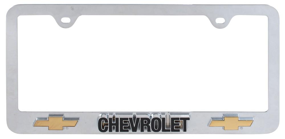 Compare Chevy License Plate vs Chevrolet 3D License | etrailer.com
