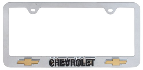 Compare Chevy License Plate vs Chevrolet 3D License | etrailer.com