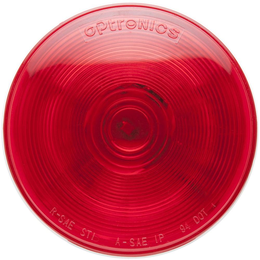 Trailer Tail Light Lens : One led trailer tail light stop turn