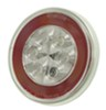 GloLight LED Trailer Tail Light - Stop, Tail, Turn - Submersible - 21 Diodes - Round - Clear Lens Round STL101RCB