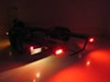 GloLight LED Trailer Tail Light - Stop, Tail, Turn - Submersible - 22 Diodes - Oval - Clear Lens 6-1/2L x 2W Inch STL111RCB