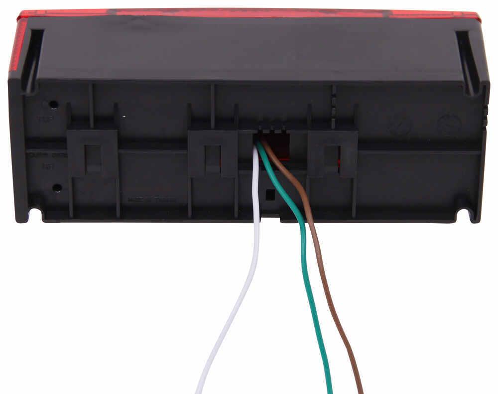 Compare Led Combination Vs Etrailercom Optronics Trailer Light Wiring Diagram Surface Mount Lights Stl14rb