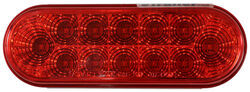 Miro-Flex Trailer Tail Light - Stop, Tail, Turn - LED - Waterproof - 12 Diodes - Red Lens