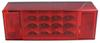 Miro-Flex LED Combination Trailer Tail Light - 8 Function - Submersible - 18 Diodes - Driver Side Stop/Turn/Tail,Side Marker,Rear Clearance,Side Refle